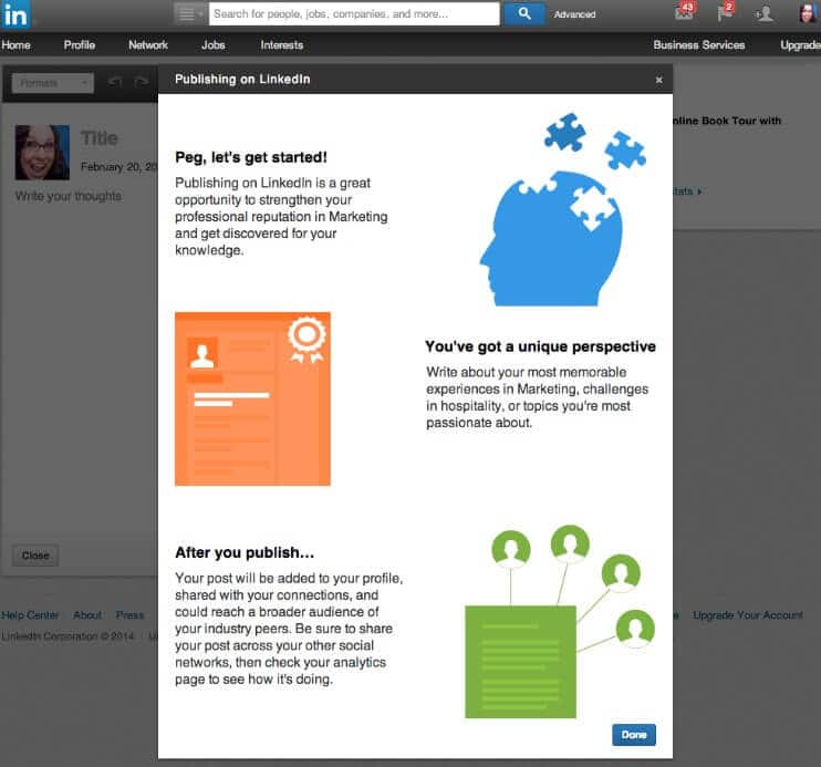 Create a New Post   LinkedIn