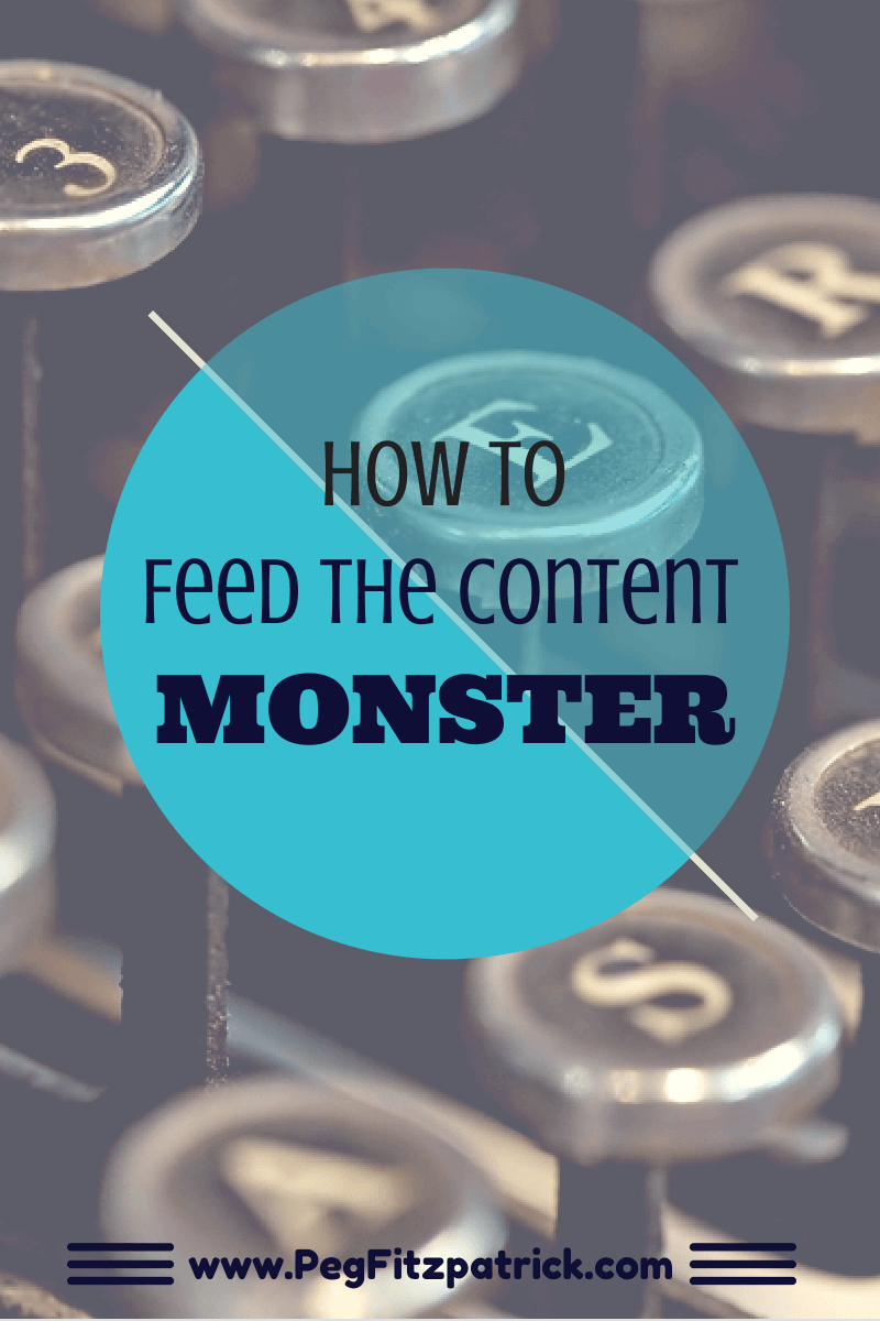 Feed the Content Monster