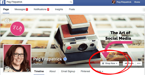 Facebook Page cover example