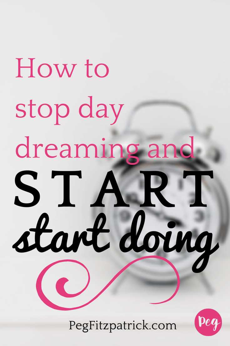 Time to stop day dreaming and start doing. Learn how from Jon Acuff's new book, Do Over!