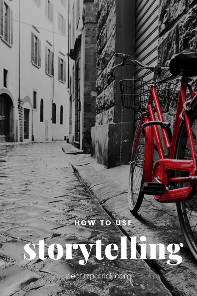 How to use storytelling